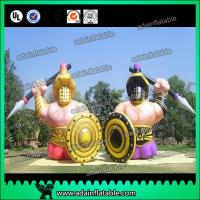 China Beer Advertising Inflatable Man Custom Inflatable Egypt Warrior wholesale