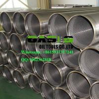 China AISI SS304L Thread Coupling Wire Wrapped Johnson Type Well Screens China manufacturer wholesale