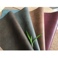 Man-made Leather Upholstery fabric with various colors and textures with 25