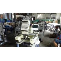 Quality Computer Control Single Head Embroidery Machine With Flat And Garments Function for sale