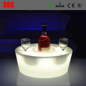 China Manufacturer Of LED Bar Furniture Illuminated LED Wine Bottle Tray/LED Tray For Beer Bottle wholesale