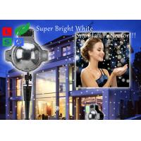 China 120 - 240V Outdoor LED Snowflake Projector For Winter Festival And Shop Promotion on sale
