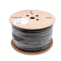 China PE Insulation Network Cat5e Sftp Cable / 100% Copper Lan Cables 305 M / Roll wholesale