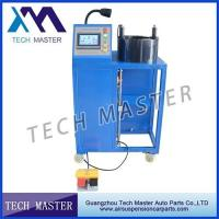 China 4KW  Power Hydraulic Hose Crimping Machine For Air Shock Absorber wholesale