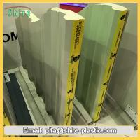 China Clear Sticky Back Plastic Adhesive Film Sandwich Panel Surface Protective Foil Anti Dust wholesale