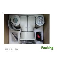 Quality RECODA C812 High Speed Pan / Tilt PTZ video camera with Infrared Lighting for sale