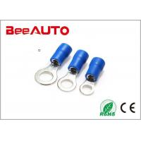 China RV2-5 Flag Female Electrical Ring Terminals , Ring Lug Connector International Standard wholesale