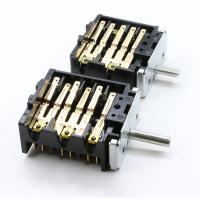 China 12 Bakelite Electric Oven Selector Multi Position Rotary Switch 16A 250V T150 on sale