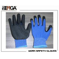 China 13G High Grade Polyester Shell Latex Coated, Crinkle Finish/Smooth Finish From China wholesale