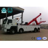 China SINOTRUK HOWO 6x4 Heavy Duty Wrecker Tow Truck For Car Accident wholesale