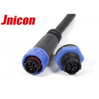 China Waterproof 3 Pin Male Female Connector IP67 / IP68 For LED Outdoor Lighting wholesale