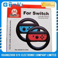 China Colorful Joy Con Steering Wheel / Playstation 4 Racing Wheel For Switch Racing Game wholesale