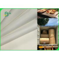 China 70gsm To 120gsm Food Grade Uncoated White Bleached Kraft Paper FDA EU SGS wholesale