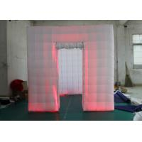 China Outdoor Inflatable Photo Booth Double Triple Stitches Customized Color wholesale