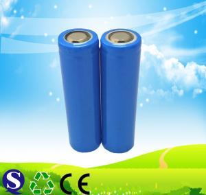 Buy cheap 2000mAh capacity original 18650 battery genuine INR18650 3.7V 2000mAh high drain from wholesalers