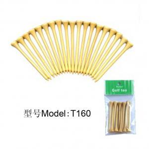 China fashion hot sale bamboo golf tee wooden golf tees wholesale