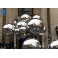 China Silver 0.45m Inflatable Reflective Balloon For Wedding Party wholesale