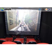 China Electronic System Motion Theater Seats Equip Snow Rain Bubble Lightning ETC wholesale