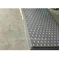 China 304 Checked Plate Stainless Steel Surface Finish For Construction Site wholesale