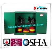 China Flame Proof  Hazardous Material Storage Containers 30 Gallon For Pesticide / Gas Cylinder wholesale