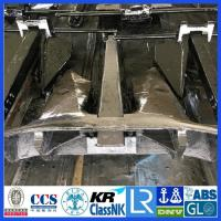 China China Supplier Black Painted 6975KG  Marine AC-14 HHP Anchor With DNV ABS CCS BV NK Class wholesale