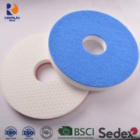 China Floor clean pad of melamine sponge floor pad with scrubber Suitable for machines under 200 RPM wholesale