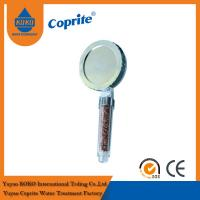 China Negative Ion Germanium Massage Shower Head Water Filter For Portable Shower Filter on sale