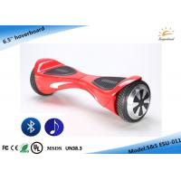 China Red 6.5 Two Wheel Smart Self Balancing Electric Scooter Hover Board on sale