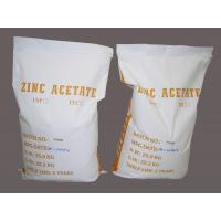 China High Pure Zinc Acetate Dihydrate / Zinc Acetate Dehydrate Technical grade wholesale