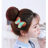 China Custom Designs Baby Girls Hair Velcro Pad , Newborn Velcro Hair Bows wholesale
