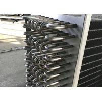 China Stainless Steel Fin Type Heat Exchanger Easy Installation Long Service Life wholesale