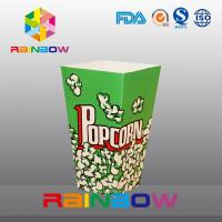Quality Unique Design Customized Paper Bags , America Popcorn Paper Bags for sale