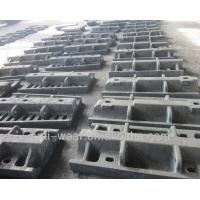 China Ni-hard Cast Iron Sag Mill Liners , Heat Resistant Aluminum Sand Castings HRC53 wholesale