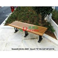 China Rotproof Wood Plastic Composite Bench Anti - UV Color Stability No Cracking wholesale