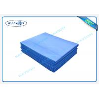 China Surgical Polypropylene Medical Cover Sheet / Disposable Waterproof Bed Sheets wholesale