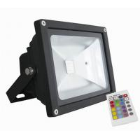 China High Transparent Glass 50W 6000K Cold White RGB LED Flood Lighs 3 Years Warranty wholesale