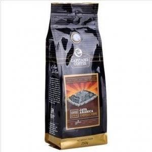 Customized Tin Tie Coffee Bean Bag / Aluminum Foil Side Gusset Quad Seal Packaging Coffee Bag,Hot Packs Custom Printing
