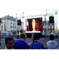 China P6 Stage Background Big Outdoor Rental Led Screen With Remote Control Novastar System wholesale
