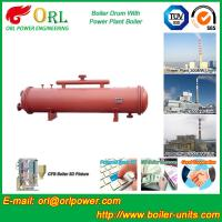 China Bucket central heating boiler mud drum ISO9001 wholesale