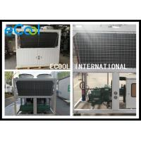 China Central Air Conditioning Freezer Condensing Unit Wide Temperature Range on sale