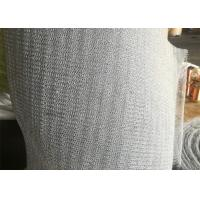 China PTFE Mix Plastic Knitted Wire Mesh 316 Stainless Steel For Vapor - Liquid Separation wholesale