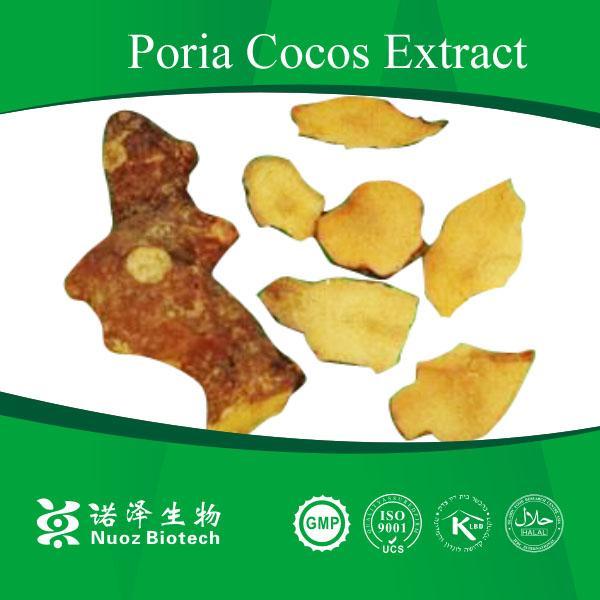 Quality herb medicine poria cocos p.e. polysaccharides powder for sale