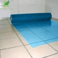 China 0.03-0.2mm Blue Manufacture Floor Protective Film for wholesale on sale
