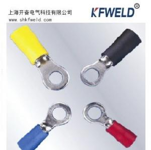 China Electrical RV RingType Insulated Ferrule Terminal, Wire Crimp Tube Sleeve RV Type Insulated Cord End Terminals wholesale