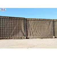 "China 3""x3"" Mesh Hole Sand Filled Barriers For Army And Military Defence wholesale"