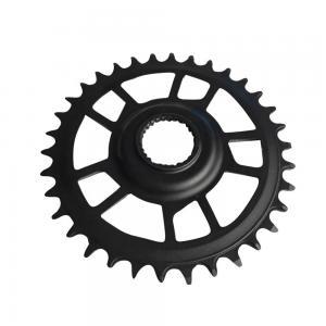 China Black Matt Aluminum Extrusion Profiles Powder Coating Automotive Parts on sale