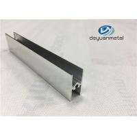 China Bright Dip Furniture Aluminium Profiles Precise Cutting For Shower Enclosure Profile wholesale