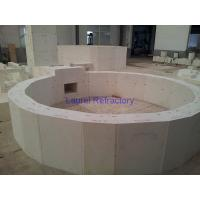 China Fire Resistant Corundum Refractory Bricks , Fused Zircon Corundum Brick wholesale
