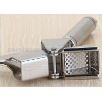 China 304 Stainless Steel Kitchen Tool Set Heavy Duty Garlic Press For Restaurant wholesale