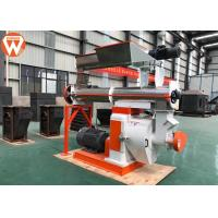China Steam Conditioner Feed Pellet Machine With Grain Grass Φ350mm Ring Die 5t/H on sale